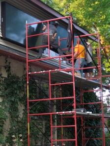 Make Mine Solar solar hot air panels