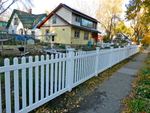 We hope the right kind of fence will create better boundaries without closing off the opportunity to socialize with our community.